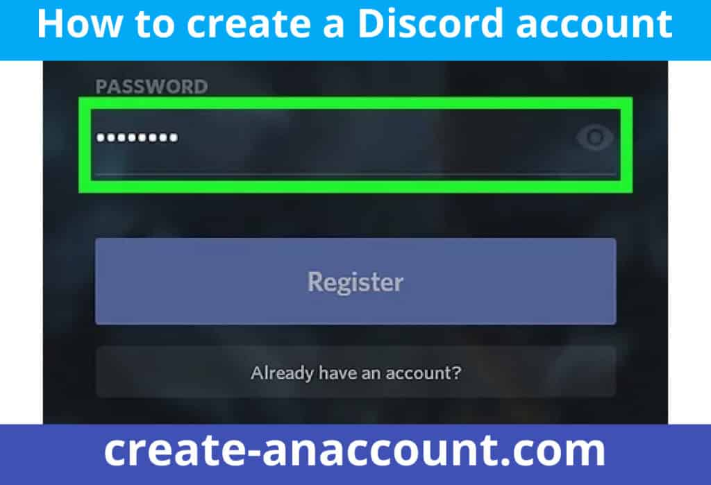 How to create Discord account